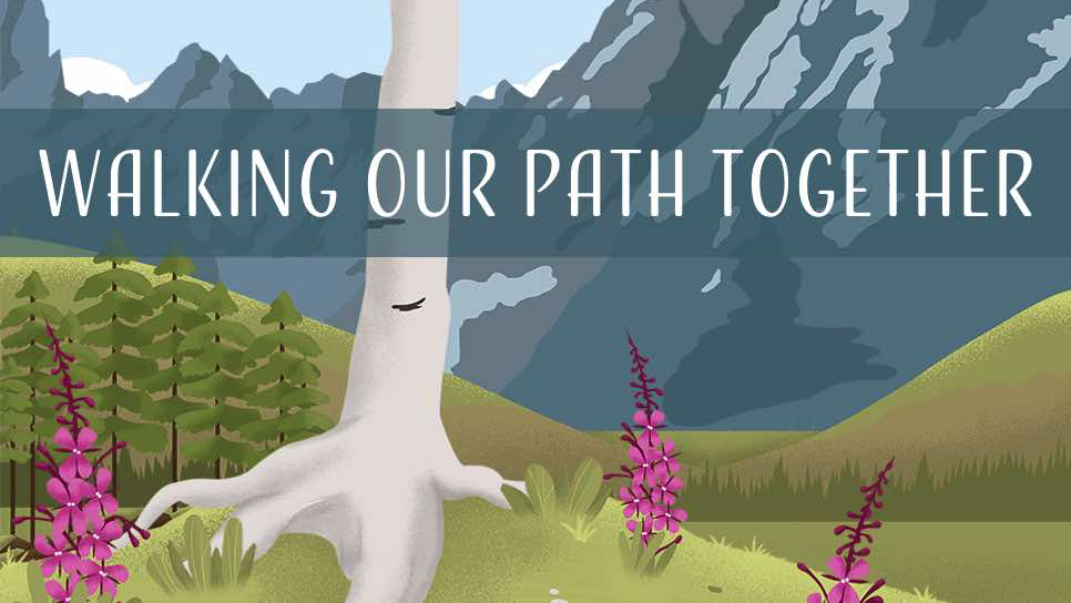 Walking Our Path graphic