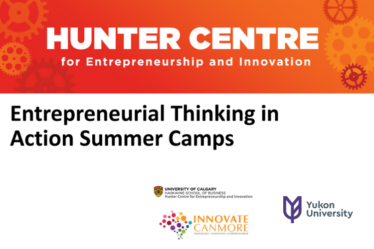 Hunter Centre Entrepreneurial Thinking in Action Summer Camps