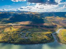 Coffee project site in central Yukon