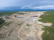 Minto mine site